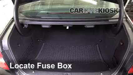 2010 Mercedes-Benz E63 AMG 6.3L V8 Fusible (interior)