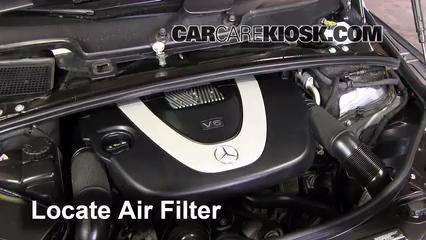 2010 Mercedes-Benz R350 4Matic 3.5L V6 Air Filter (Engine)
