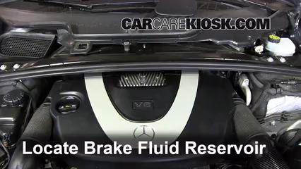 2010 Mercedes-Benz R350 4Matic 3.5L V6 Brake Fluid