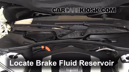 2010 Mercedes-Benz S400 Hybrid 3.5L V6 Brake Fluid