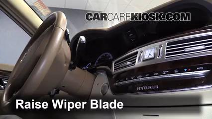2010 Mercedes-Benz S400 Hybrid 3.5L V6 Windshield Wiper Blade (Front)