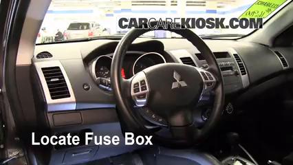 2010 Mitsubishi Outlander ES 2.4L 4 Cyl. Fuse (Interior)