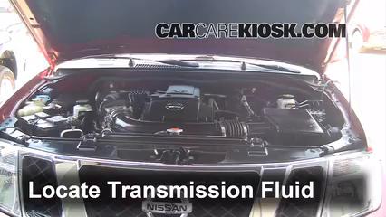 2010 Nissan Pathfinder SE 4.0L V6 Transmission Fluid