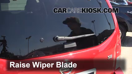 2010 Nissan Pathfinder SE 4.0L V6 Windshield Wiper Blade (Rear)