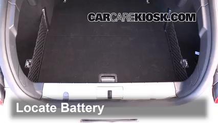 2010 Porsche Panamera 4S 4.8L V8 Batería Limpiar batería y terminales