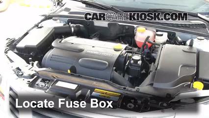 2010 Saab 9-3 2.0T 2.0L 4 Cyl. Turbo Sedan Fuse (Engine)