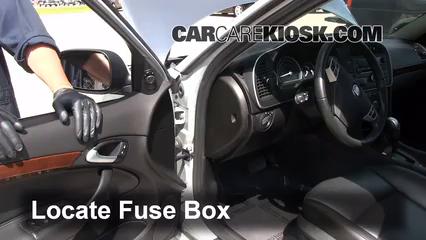 2010 Saab 9-3 2.0T 2.0L 4 Cyl. Turbo Sedan Fuse (Interior)