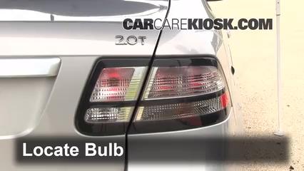 2010 Saab 9-3 2.0T 2.0L 4 Cyl. Turbo Sedan Lights Reverse Light (replace bulb)