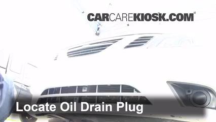 2010 Saab 9-3 2.0T 2.0L 4 Cyl. Turbo Sedan Aceite Cambiar aceite y filtro de aceite