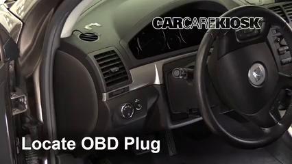 2010 Saturn Outlook XE 3.6L V6 Compruebe la luz del motor Diagnosticar