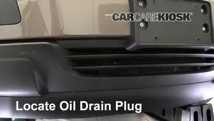 2010 Saturn Outlook XE 3.6L V6 Aceite Cambiar aceite y filtro de aceite