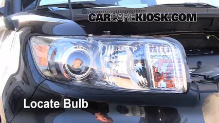 2010 Scion xB 2.4L 4 Cyl. Luces Luz de carretera (reemplazar foco)