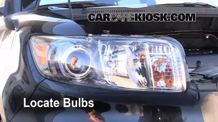 2010 Scion xB 2.4L 4 Cyl. Luces Luz de estacionamiento (reemplazar foco)