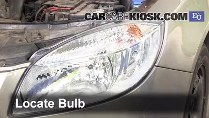 2010 Skoda Fabia S 1.2L 3 Cyl. Luces Luz de marcha diurna (reemplazar foco)