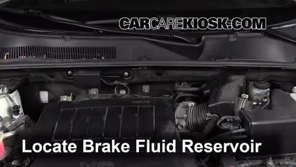 2010 Toyota RAV4 Limited 3.5L V6 Brake Fluid