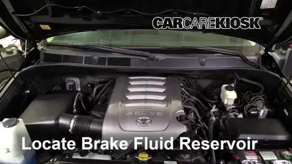 2010 Toyota Tundra SR5 4.6L V8 Extended Crew Cab Pickup Brake Fluid