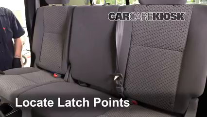 2010 Toyota Tundra SR5 4.6L V8 Extended Crew Cab Pickup Car Seats