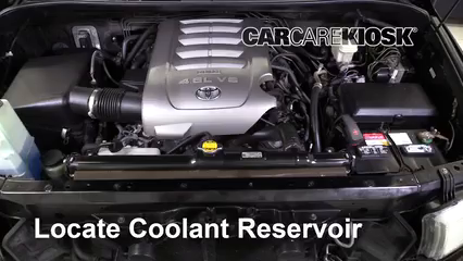 2010 Toyota Tundra SR5 4.6L V8 Extended Crew Cab Pickup Coolant (Antifreeze)