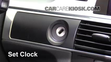 How To Set The Clock On A Audi A6 2005 2011 2008 Audi A6 32l V6