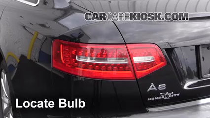 Tail Light Change 2005-2011 Audi A6 Quattro - 2006 Audi A6 Quattro