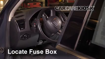 2011 audi q5 fuse box interior fuse box location 2009 2017 audi q5 2011 audi q5  interior fuse box location 2009 2017