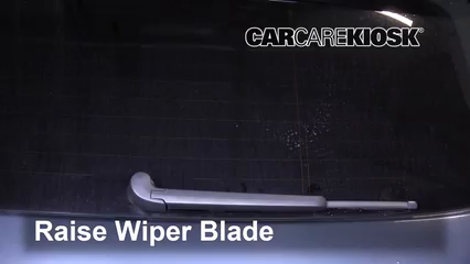 2011 Audi Q5 Premium Plus 2.0L 4 Cyl. Turbo Windshield Wiper Blade (Rear)