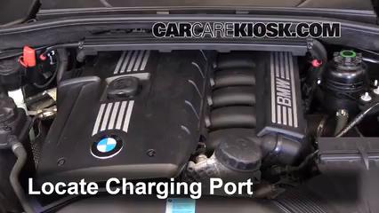 How to Add Refrigerant to a 2008-2013 BMW 128i - 2011 BMW 128i 3 0L