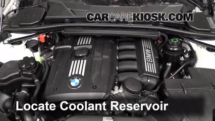 How to Add Coolant     BMW    335i  20062013   2011    BMW    335i 3