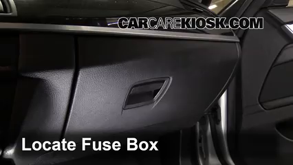 interior fuse box location: 2010-2017 bmw 535i