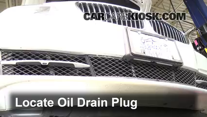 2011 BMW 535i 3.0L 6 Cyl. Turbo Oil Change Oil and Oil Filter