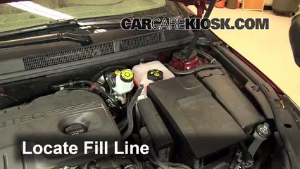 [WQZT_9871]  How to Add Coolant: Buick LaCrosse (2010-2016) - 2011 Buick LaCrosse CX  2.4L 4 Cyl. | Buick Engine Coolant |  | CarCareKiosk