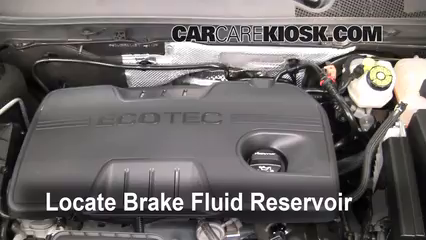 2011 Buick Regal CXL 2.4L 4 Cyl. Brake Fluid
