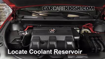 Coolant Flush How-to: Cadillac SRX (2010-2016) - 2011