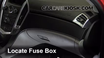 interior fuse box location 2010 2016 cadillac srx 2011interior fuse box location 2004 2009