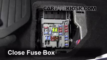 Interior Fuse Box Location: 2010-2016 Cadillac SRX - 2011 ...