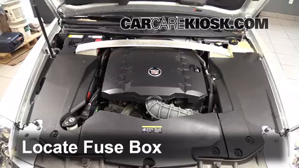 2006 cadillac sts fuse box location blown fuse check 2005-2011 cadillac sts - 2011 cadillac ... 2011 cadillac sts fuse box #2