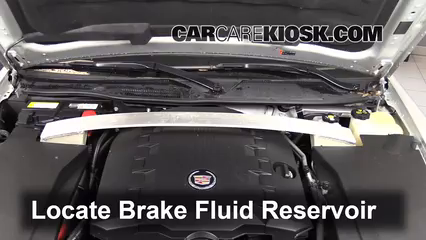 2011 Cadillac STS 3.6L V6 Brake Fluid Check Fluid Level