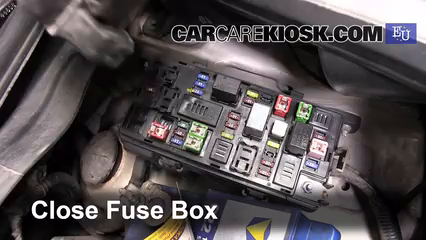 Replace a Fuse: 2010-2015 Chevrolet Beat - 2011 Chevrolet Beat Campus 1.0L  4 Cyl.CarCareKiosk