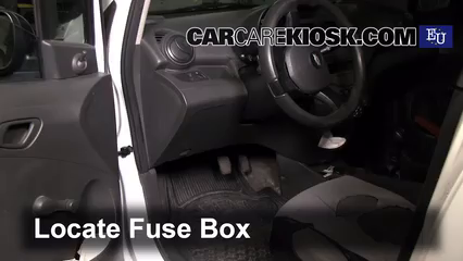 Interior Fuse Box Location 2010 2015 Chevrolet Beat 2011