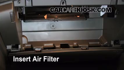 Cabin Filter Replacement: Chevrolet Cruze 2011-2016 - 2011