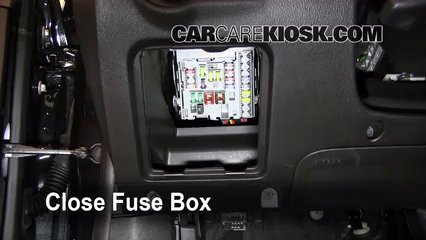 Interior Fuse Box Location: 2011-2016 Chevrolet Cruze - 2011 ...