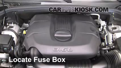 2011 Dodge Durango Crew 3.6L V6 FlexFuel%2FFuse Engine Part 1 replace a fuse 2011 2016 dodge durango 2011 dodge durango crew 2011 dodge durango fuse box location at nearapp.co