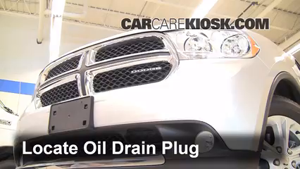 2011 Dodge Durango Crew 3.6L V6 FlexFuel Oil Change Oil and Oil Filter