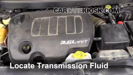 Transmission Fluid Level Check Dodge Journey (2009-2019) - 2011