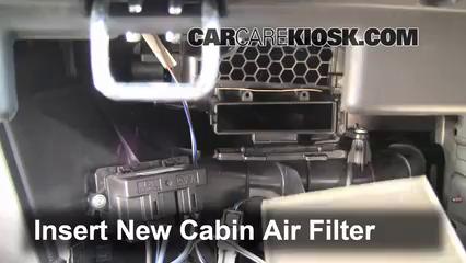 2007-2011 Dodge Nitro Cabin Air Filter Check - 2011 Dodge