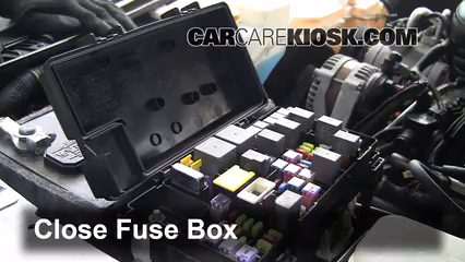 Interior Fuse Box Location: 2007-2011 Dodge Nitro - 2010 Dodge Nitro