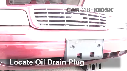 2011 Ford Crown Victoria LX 4.6L V8 FlexFuel Oil Change Oil and Oil Filter