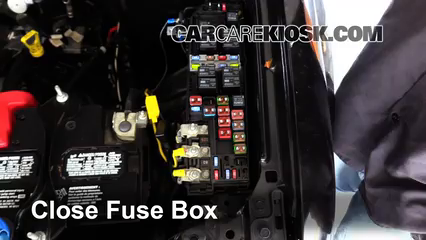 2011 Ford Escape XLT 3.0L V6 FlexFuel%2FFuse Engine Part 2 replace a fuse 2005 2012 ford escape 2008 ford escape xlt 3 0l v6 2008 Ford Escape Fuse Box Layout at n-0.co