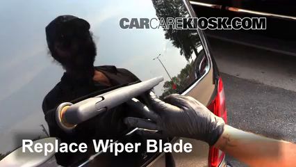Rear Wiper Blade Change Ford Escape  Ford Escape Xlt  L V Flexfuel