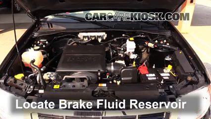 2011 Ford Escape XLT 3.0L V6 FlexFuel Brake Fluid